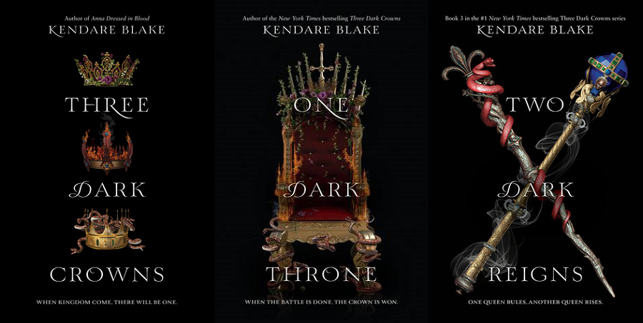 Image result for Three Dark Crowns by Kendare Blake