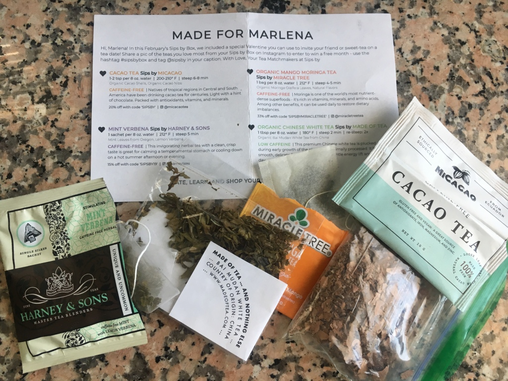 February Teas – Marlena Marie