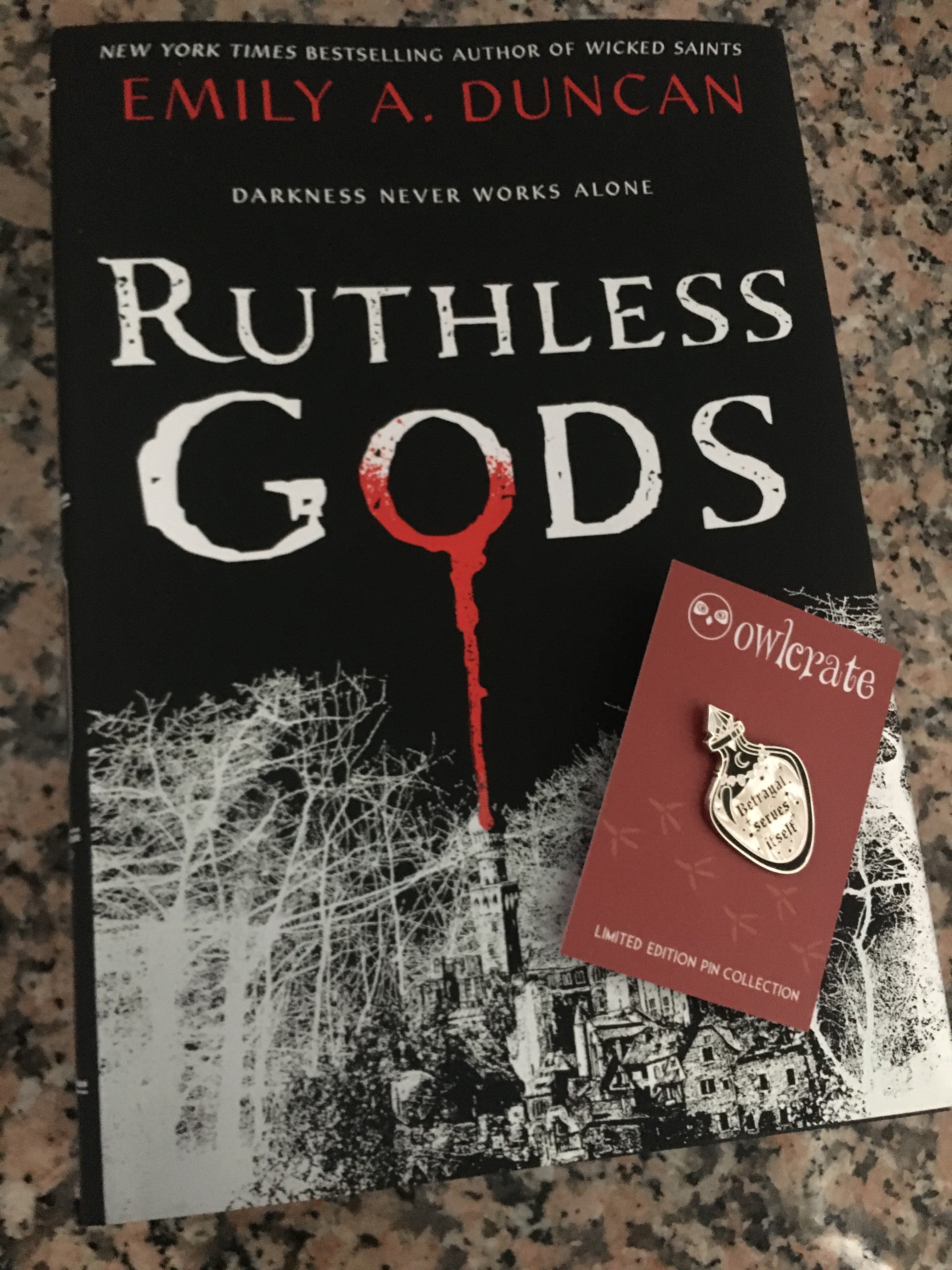 Ruthless Gods Book